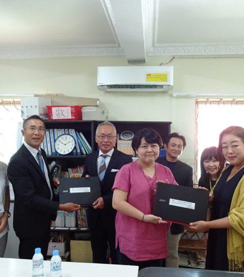 カンボジア日本人商工会(JBAC)様からの寄付金をいただきました。